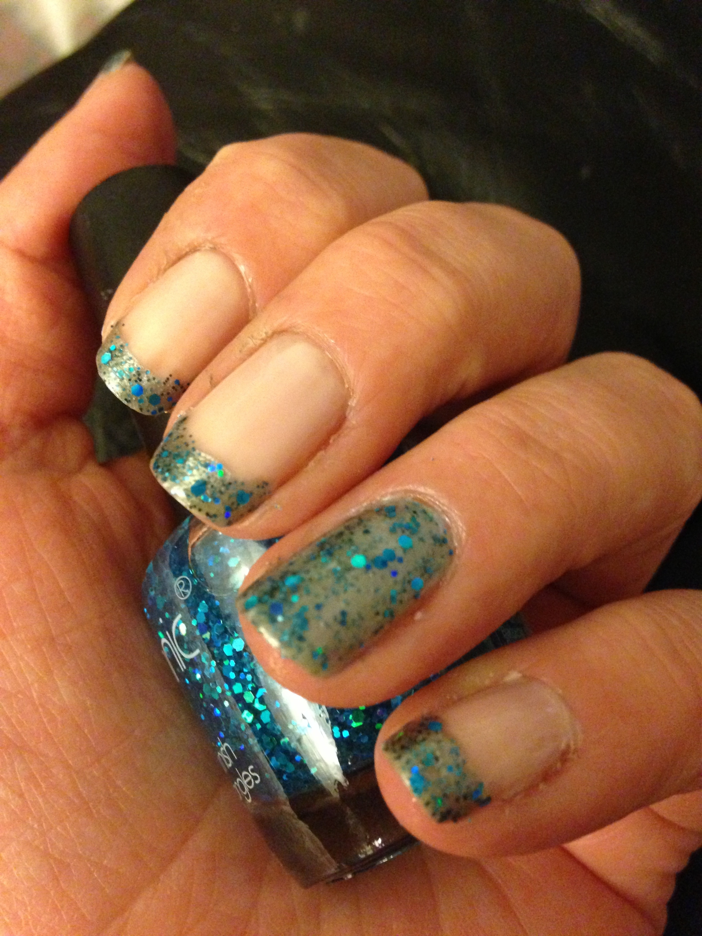 Glitter French Manicure Fade Can You Say Wedding Nails: Beginnersnailart's Blog
