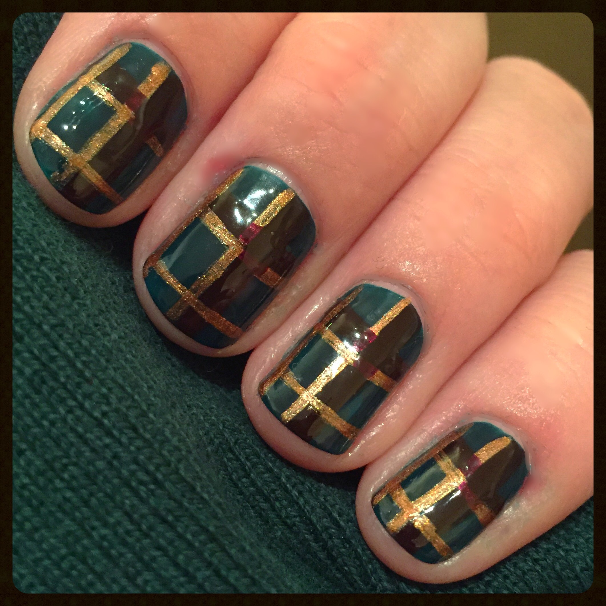 Nail art beginnersnailarts blog page 7 step 6 clean up around your nails apply topcoat and youre done prinsesfo Gallery