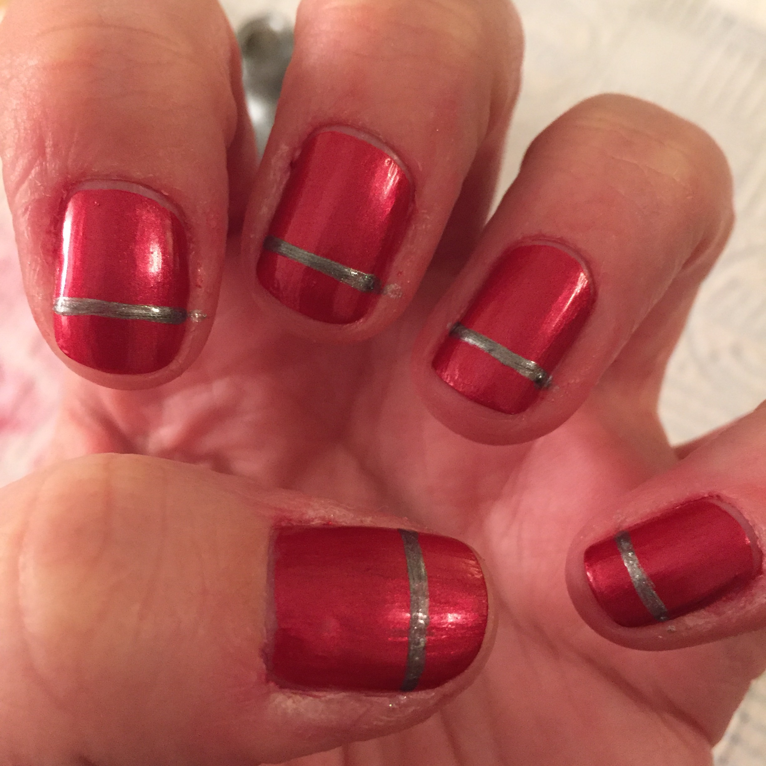 christmas nail art | beginnersnailart\'s Blog